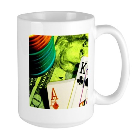 Poker Lover Large Mug