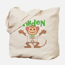 Little Monkey Kaiden Tote Bag