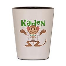 Little Monkey Kaiden Shot Glass