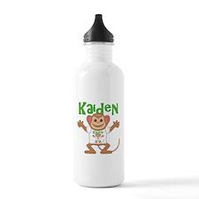 Little Monkey Kaiden Water Bottle