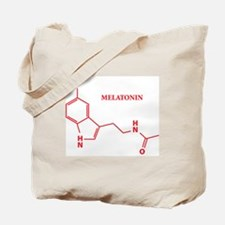 Melatonin Molecule Tote Bag
