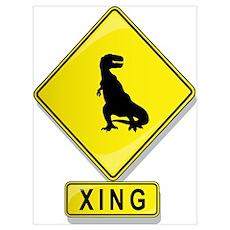Tyrannosaurus Rex XING Poster