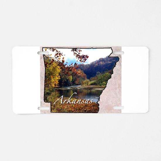 Cute Arkansas Aluminum License Plate