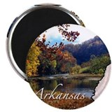 Arkansas Round Magnets