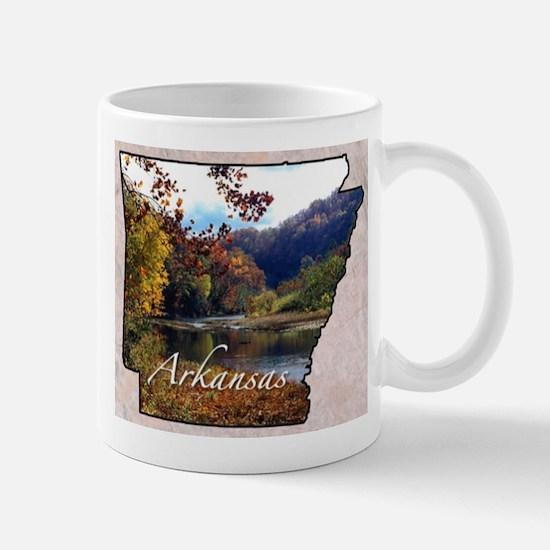 ArkansasMap28 Mugs