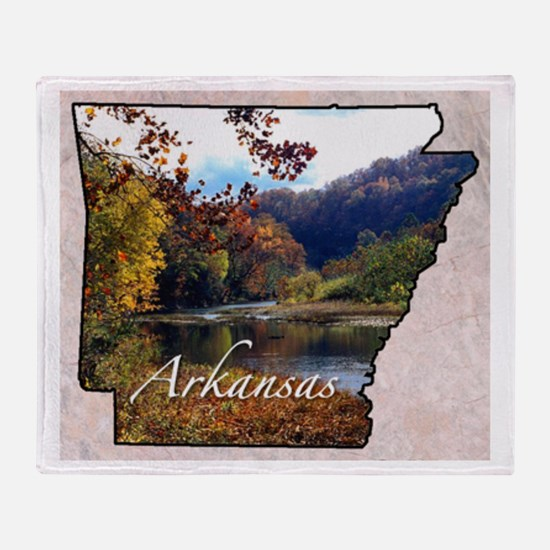 Cute Arkansas Throw Blanket