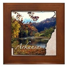 Unique Arkansas Framed Tile