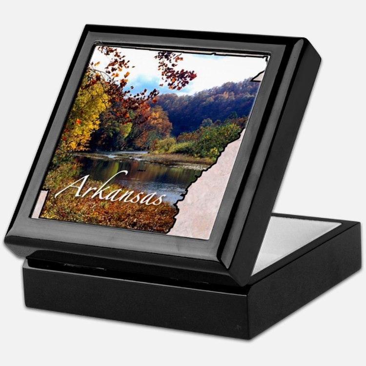 Cute Arkansas Keepsake Box