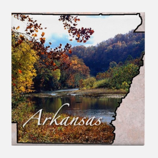 Cute Arkansas Tile Coaster