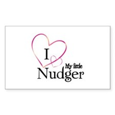 I love my little nudger Decal