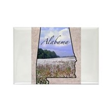 Cute 50 states Rectangle Magnet