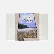 Cute State of alabama Rectangle Magnet