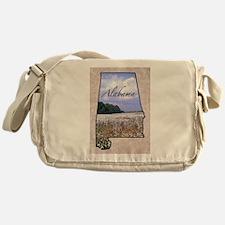 Cute Alabama Messenger Bag