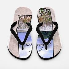 Cute Alabama Flip Flops