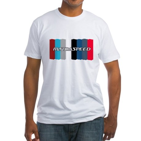 Speed3 Color Palette Fitted T-Shirt