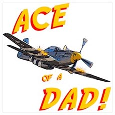 Ace of a Dad! Canvas Art