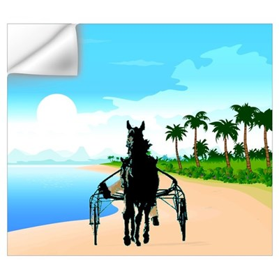 Tropical Trotter Wall Decal