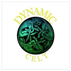 Dynamic Celt.1 Canvas Art