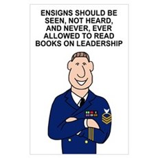 Ensigns Should Be Seen<BR> Print Poster