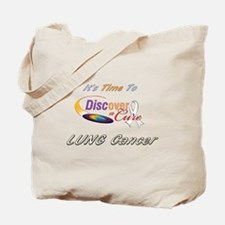 DISCover A Cure/LCcure Tote Bag