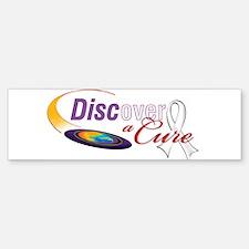 DISCoverACure Lung Cancer Awareness Bumper Bumper Bumper Sticker