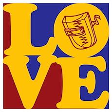Welding Love Poster