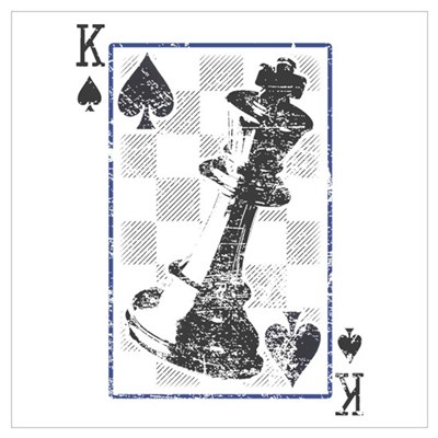Chess King of KINGS Canvas Art
