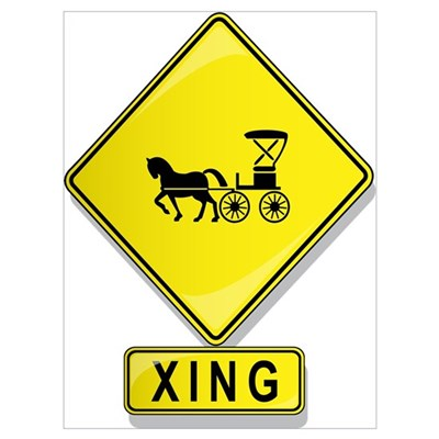 Horse and Buggy XING Poster