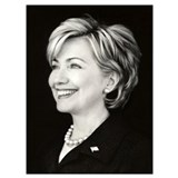 Hillary clinton Wrapped Canvas Art