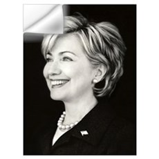NewHillary Wall Decal