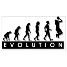 Evolution of the Basketball P Poster