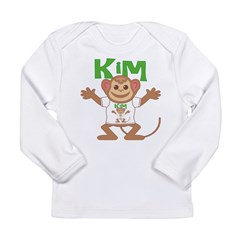 Little Monkey Kim Long Sleeve Infant T-Shirt