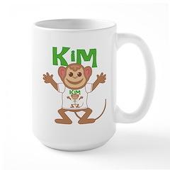 Little Monkey Kim Large Mug