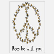 Bees be with you (peace symbo