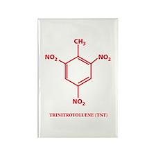 TNT Molecule Rectangle Magnet (100 pack)