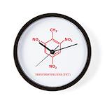 TNT Molecule Wall Clock