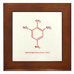 TNT Molecule Framed Tile