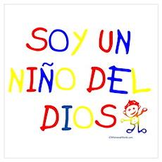 SOY UN NINO DEL DIOS Poster