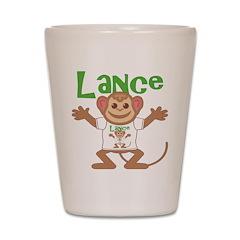 Little Monkey Lance Shot Glass
