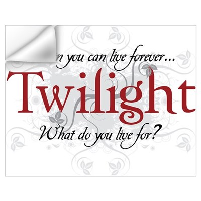 Twilight Forever Wall Decal