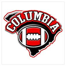 Columbia Football Poster
