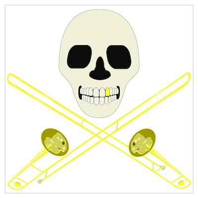 Skull and Cross'bones Poster