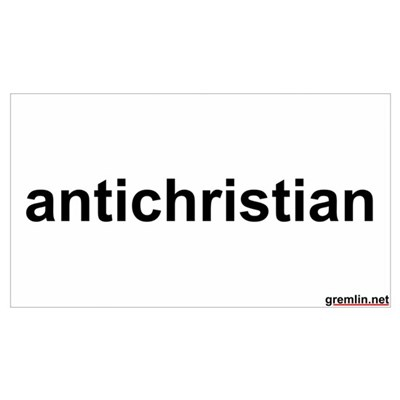 antichristian Poster