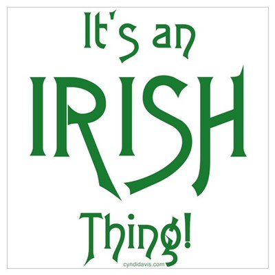 It's an Irish Thing! Poster