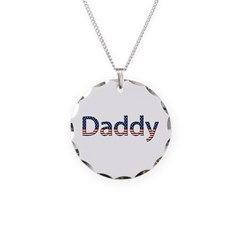 Daddy Stars and Stripes Necklace