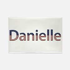 Danielle Stars and Stripes Rectangle Magnet