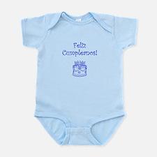 Spanish Birthday Blue Infant Bodysuit