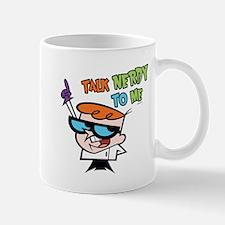 Dexter's Lab Talk Nerdy Mug