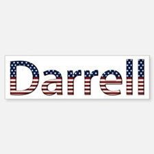 Darrell Stars and Stripes Bumper Bumper Bumper Sticker