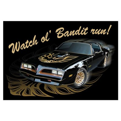 Watch ol' Bandit Run Canvas Art